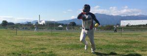 ソフトボールウィンドミルピッチング投球連続写真その9