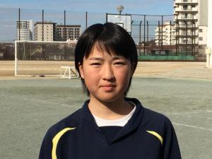 ちはら台西中学校 東牧野はんな選手本人写真