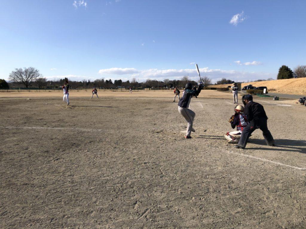 熊谷オープン試合風景