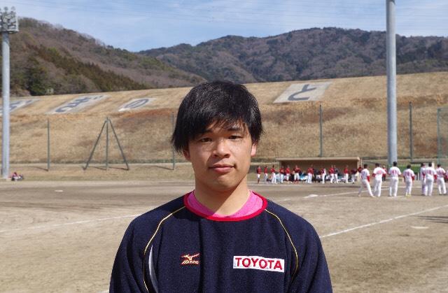 ソフトボールトヨタ自動車 黒岩誠亥選手ご本人