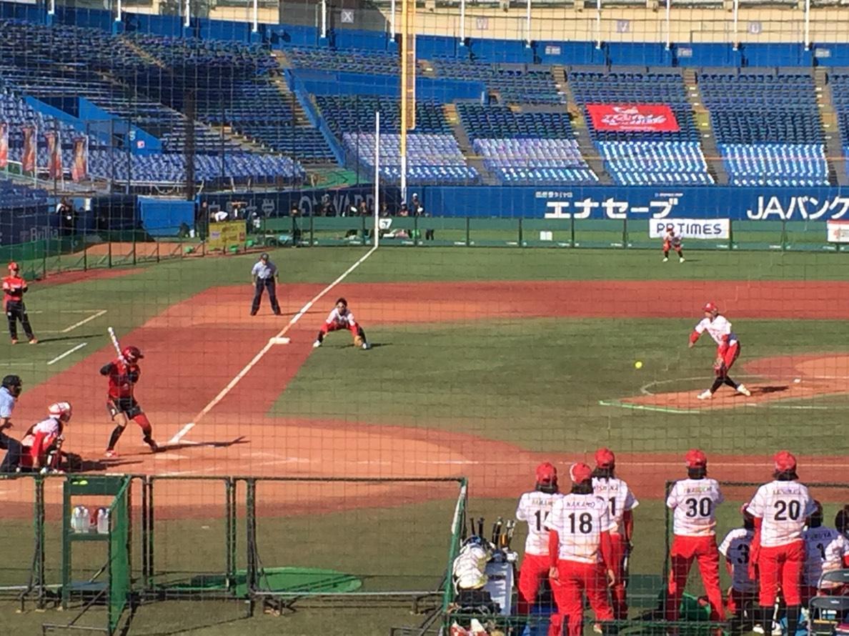 日本リーグビックカメラ高崎対トヨタ自動車