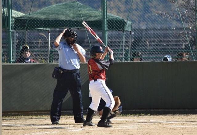 第12回春季全日本小学生男子ソフトボール大会バッティングの様子