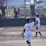 第11回春季小学生男子大会プレーの様子