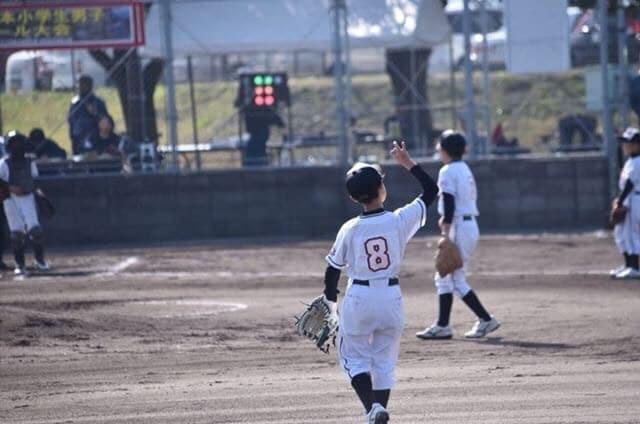 春季全日本小学生男子ソフトボール大会プレーの様子