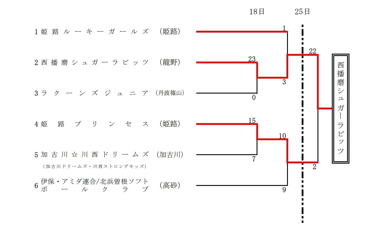 【兵庫県ソフトボール】第17回 兵庫県一般男子ソフトボール大会 結果