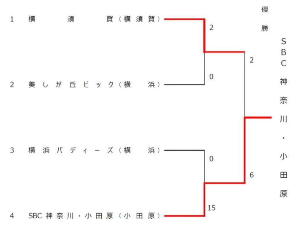 第22回 神奈川県秋季実年男子ソフトボール大会