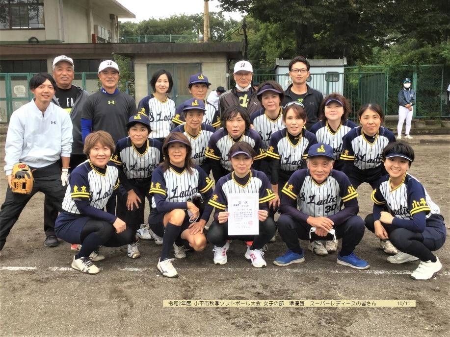 【女子ソフトボール】小平スーパーレディース(東京都小平市)メンバー募集