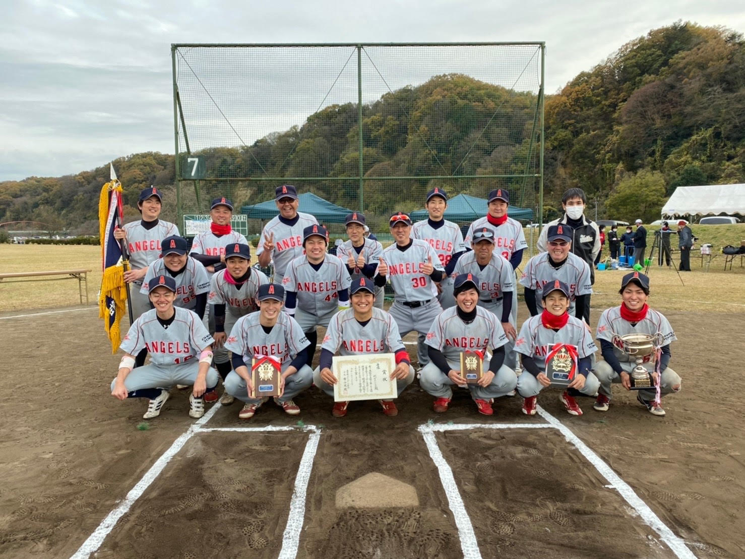 【男子ソフトボール】調布エンジェルス(東京都調布市)メンバー募集