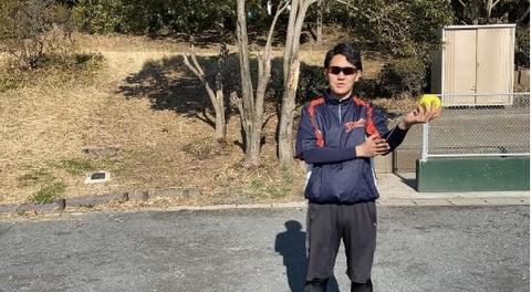 【ソフトボール】ピッチャーの投げ方を紹介_ブラッシング